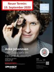 Anke Johannsen - >>Wir Zugvögel<< im Ophardt Auditorium