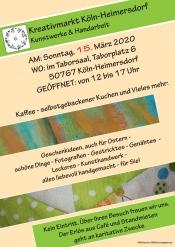 Kreativmarkt Köln Heimersdorf