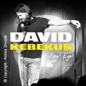 David Kebekus - Aha? Egal.