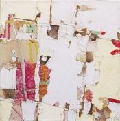 Einzelausstellung Sabine Endres, Malerei, Collage, Objekt