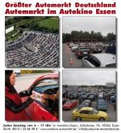 Automarkt im Autokino Essen
