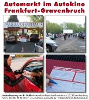 Automarkt im Autokino Frankfurt