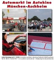 ACHTUNG !!! Aufgrund der CORONA-Krise BIS ZUM 19.04. GESCHLOSSEN - Automarkt im Autokino München