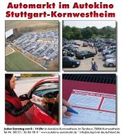 Automarkt im Autokino Stuttgart