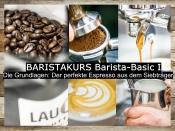 Baristakurs Barista-Basic -