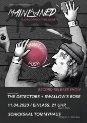 The Detectors + Mainlined (Record Release Show) + Swallow's Rose