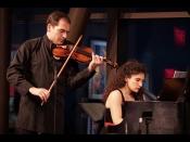 Konzert: Sara De Ascaniis (Klavier) Und Irakli Tsadaia (Violine)