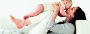 Pilates mit dem Baby