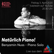 Livestream Aus Dem Loft: Natürlich Piano! Mit Benyamin Nuss