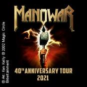 Manowar - 40th Anniversary Tour 2021