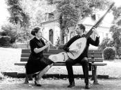 """Duo Flauto Attiorbato """"musick For A While"""" Intime Barockmusik Im Online-stream"""