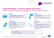 #einmischenEU - Jugend redet mit: Kostenloser Online-workshop Zur Deutschen EU-Ratspräsidentschaft