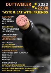 Taste & Eat With Friends