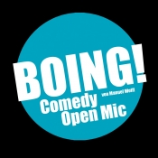 BOING! Comedy Open Mic (+ special guest)