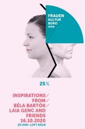 Laia Genc & Friends: Inspirations From Béla Bartók // Livestream