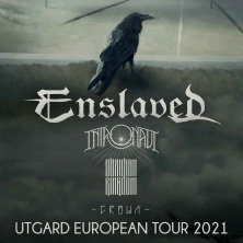 Enslaved Special Guests: Intronaut Obsidian Kingdom Crown