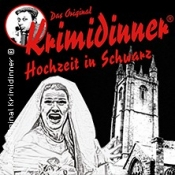 Krimidinner - Hochzeit in Schwarz