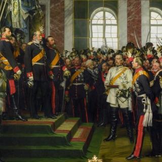 1870/71. Reichsgründung in Versailles