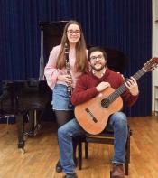 (Klassik)Folk International: Duo La'vid (Klarinette) Und (Gitarre) Im Livestream