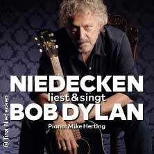 Niedecken liest & singt Bob Dylan - Bremer Musiksommer Frisch & Vielstimmig