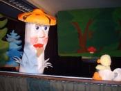 Puppenspiel-Aufführung