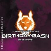 Dislikes Birthday Bash 21 (Club Volta) - Tagesticket