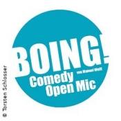 Boing! Comedy Open Mic