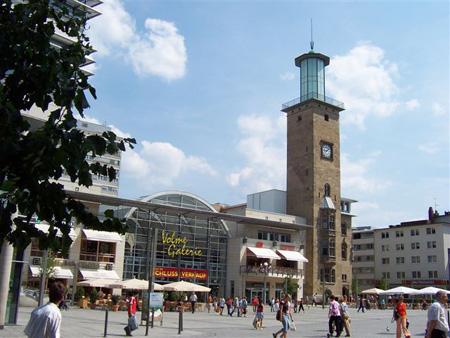 Springeplatz an der Johanniskirche