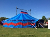Zelt des Circus Charles Monroe  Dellbrück
