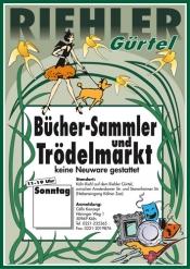 Bücher- Sammler und Trödelmarkt am Riehler Gürtel