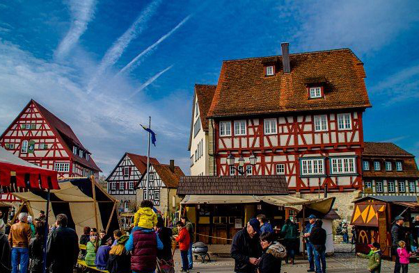 Vellberg, Altstadt