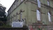 Blaue Fabrik - Grüne Villa