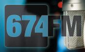 674.fm Radio-Studio am Aachener Weiher