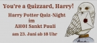 You're a Quizzard! Harry