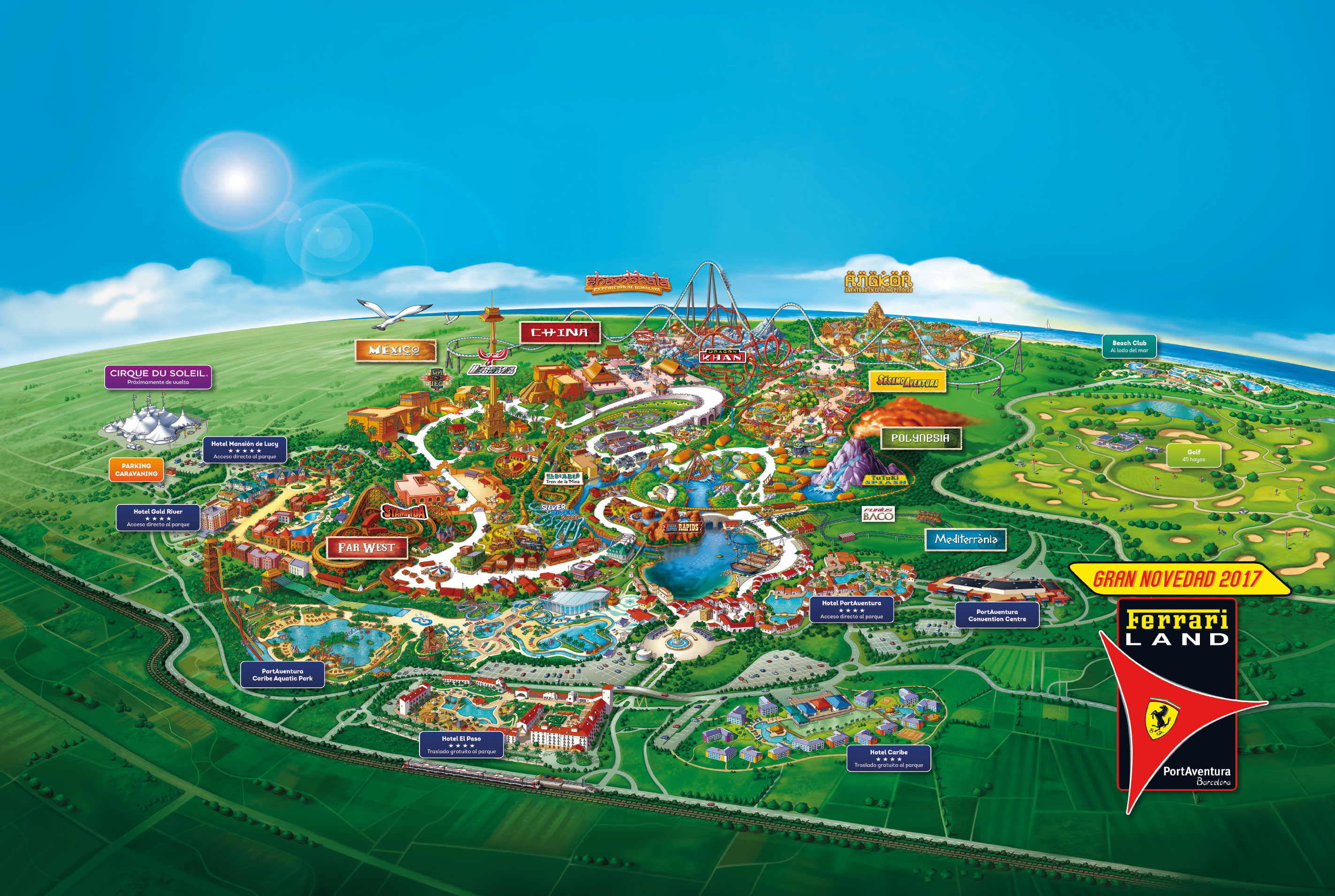 Portaventura World Salou Monkey Park Iwatayama
