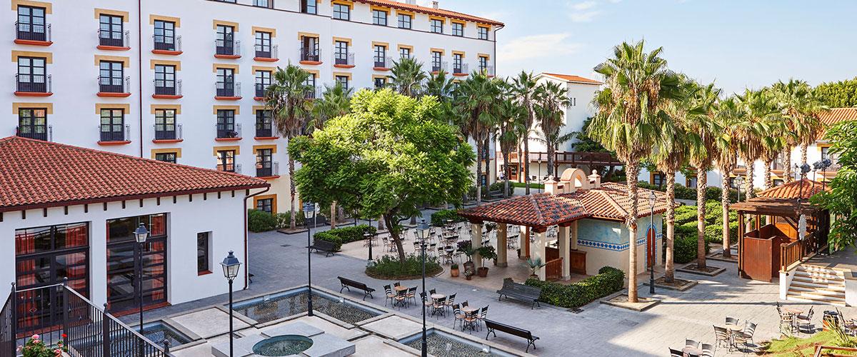 Hotel El Paso - Restaurante El Laberinto
