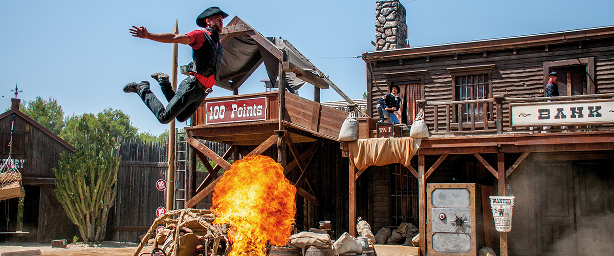 Espectáculo Bang Bang West PortAventura