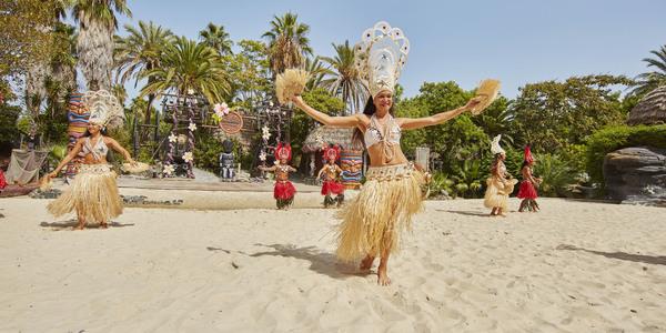 Espectáculo Aloha Tahiti PortAventura