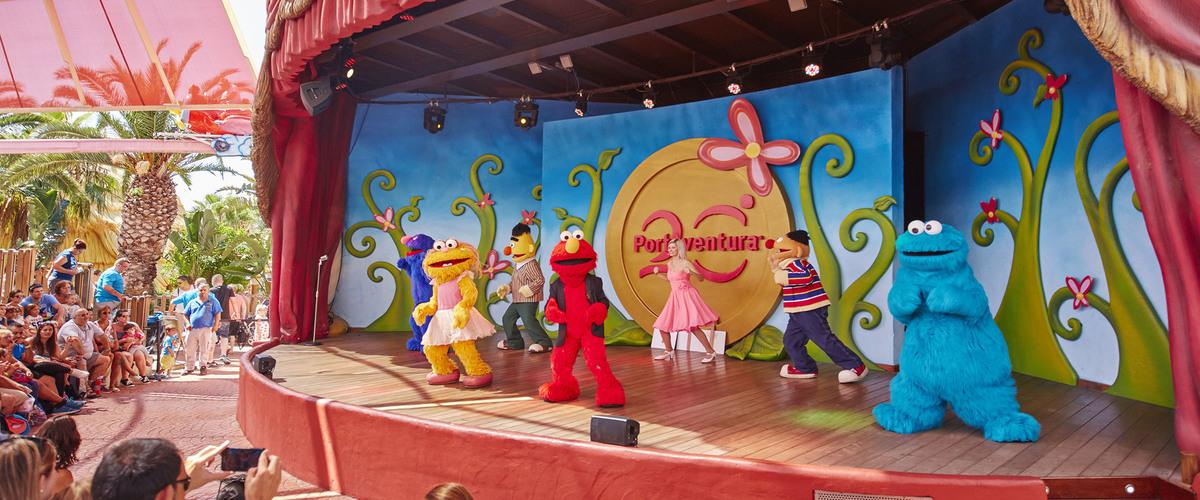 Espectáculo SésamoAventura Talent Show PortAventura