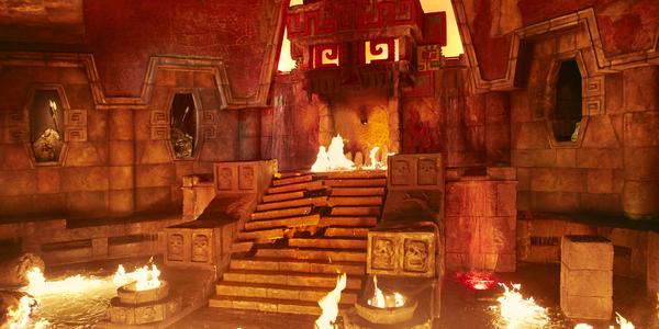Templo del Fuego - Distributiva