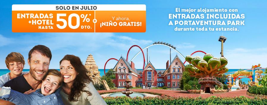 Mosaico Home Entrada + Hotel 50% / Niño Gratis - Julio (es)