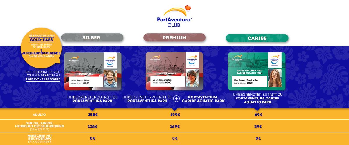 Club PortAventura - Slider Pases (de)
