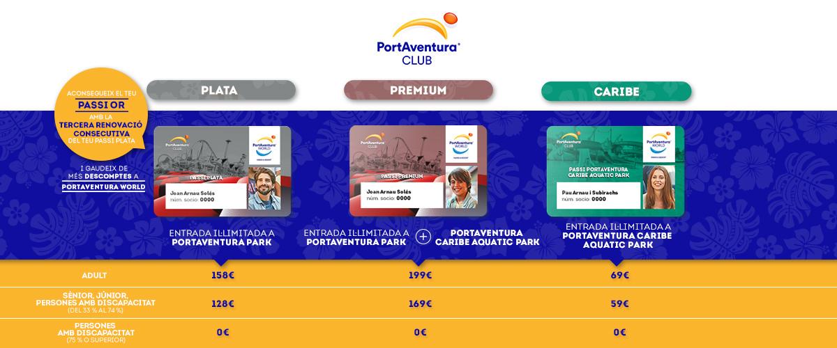 Club PortAventura - Slider Pases (ca)