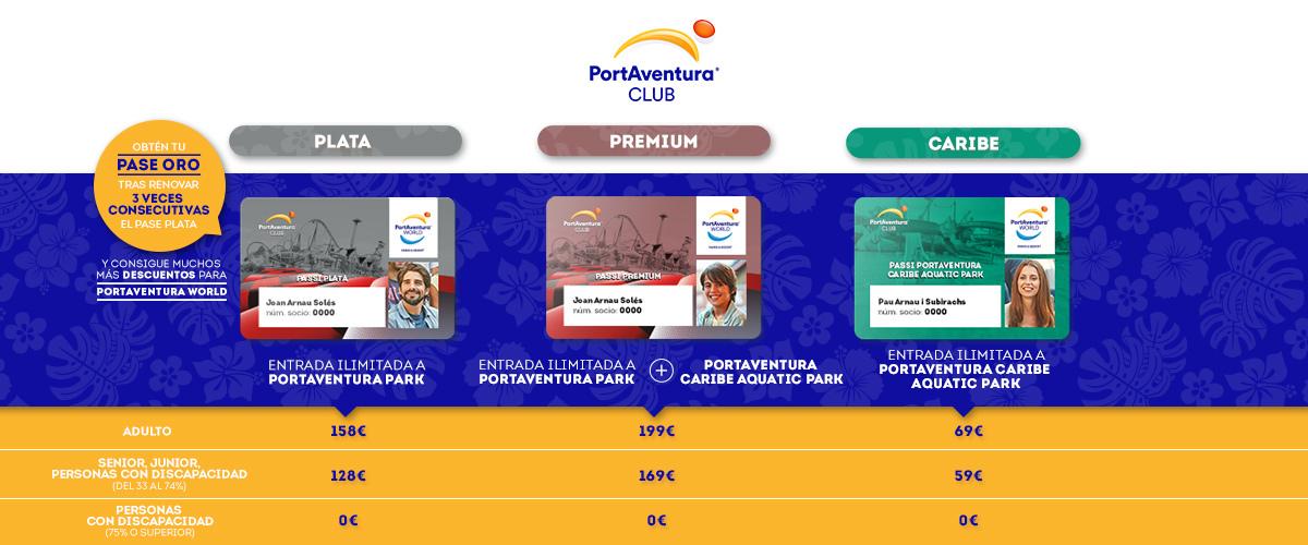 Club PortAventura - Slider Pases (es)