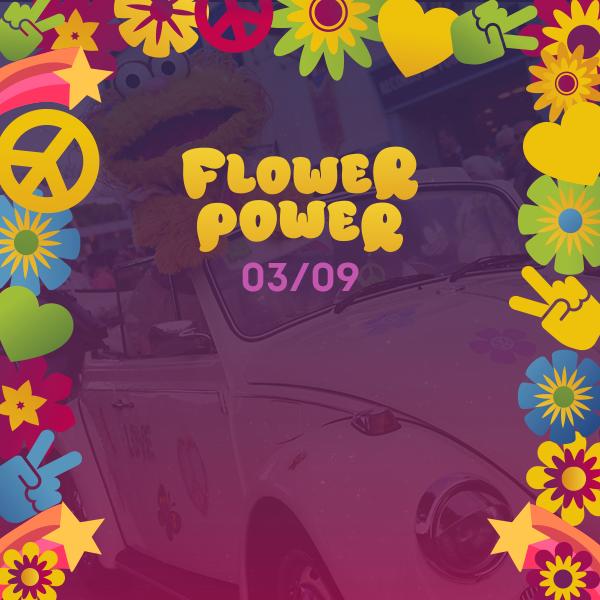 Noche Blanca - Flower Power - landing promo inferior
