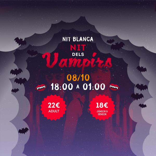 Noche Blanca - Noche de los Vampiros - Mosaico Home (ca)