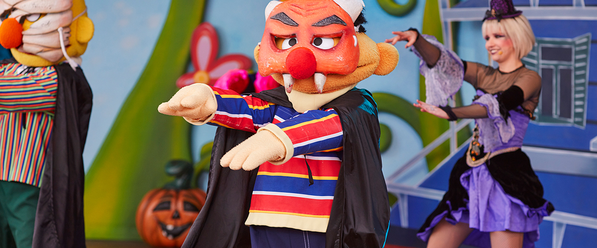 Espectáculos Halloween - Slider - Ya es Halloween en SésamoAventura