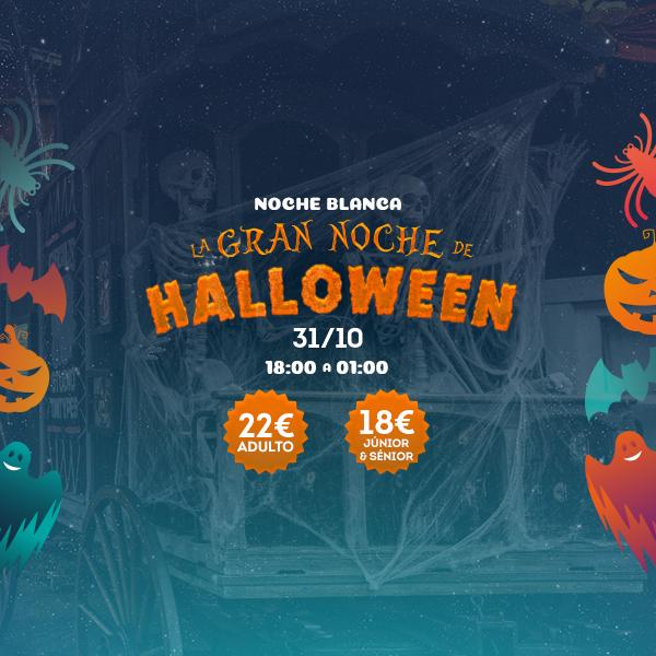 Noche Blanca - Gran Noche Halloween - Mosaico Home (es)