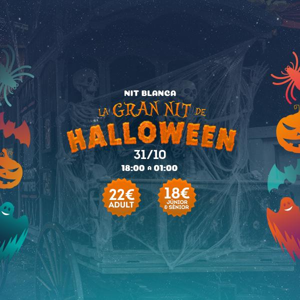 Noche Blanca - Gran Noche Halloween - Mosaico Home (ca)
