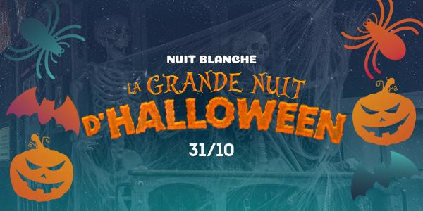 Noche Blanca - Gran Noche Halloween - Promociones (fr)
